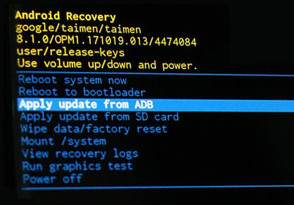Apply update from ADB Recovery Mode - How to Flash Stock ROM Using Asus Zenfone Flash Tool