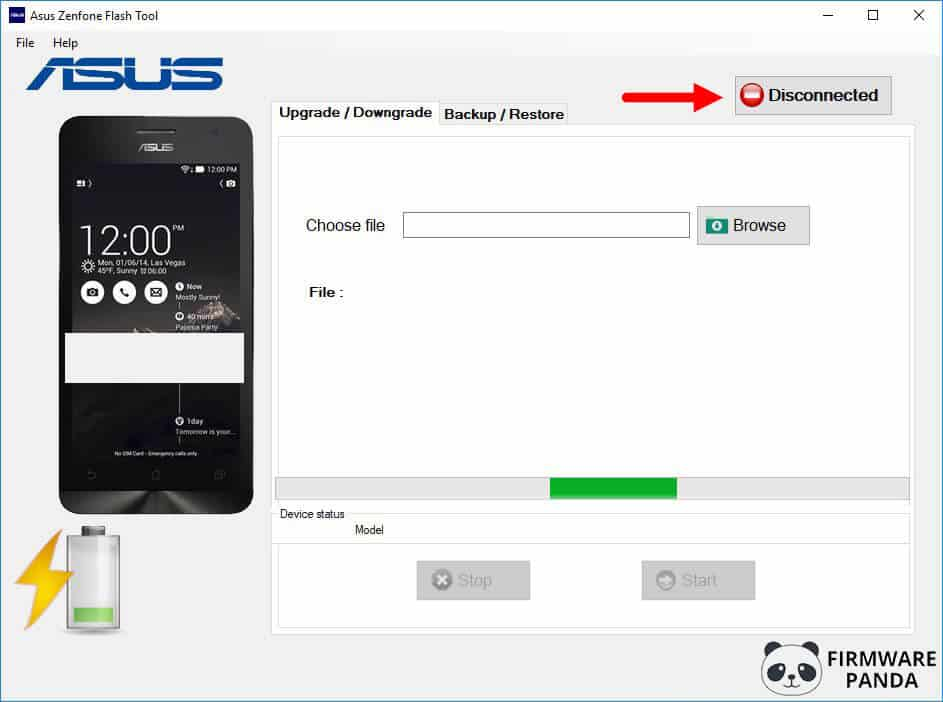 Asus Zenfone Flash Tool Disconnected - How to Flash Stock ROM Using Asus Zenfone Flash Tool
