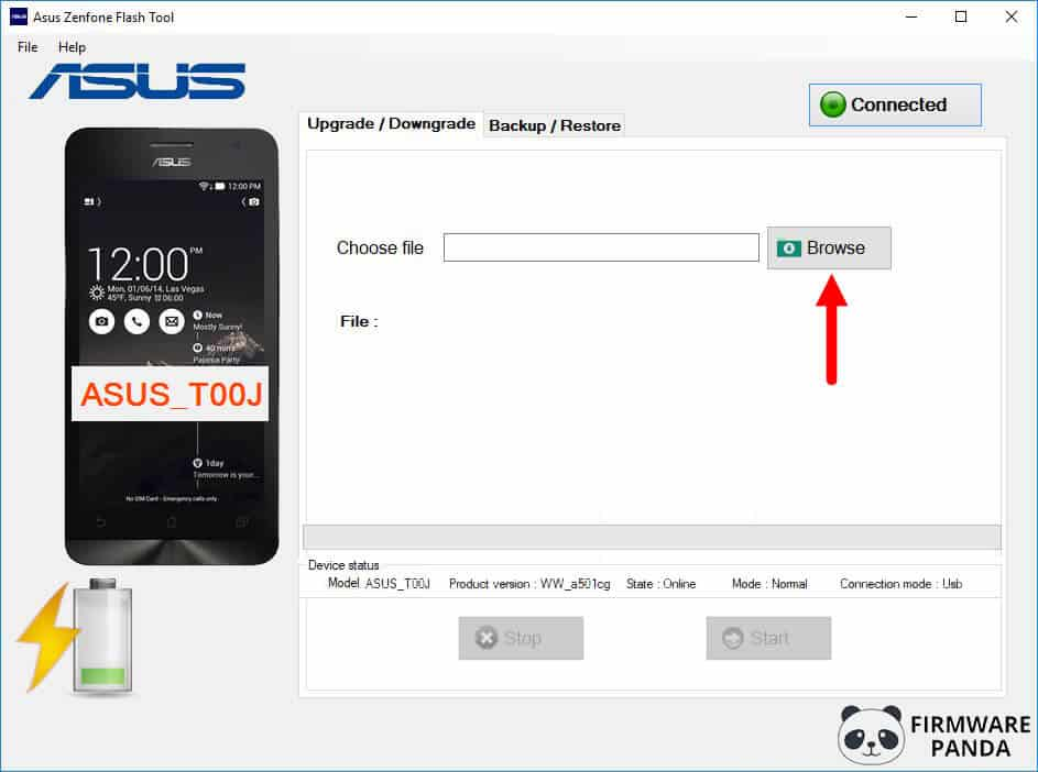 Asus Zenfone Flash Tool Load Firmware - How to Flash Stock ROM Using Asus Zenfone Flash Tool