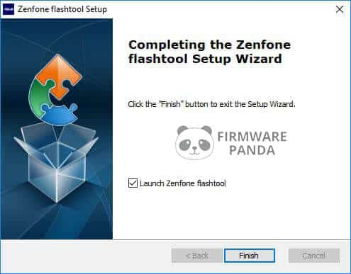 Asus Zenfone Flash Tool Setup Completed - How to Flash Stock ROM Using Asus Zenfone Flash Tool