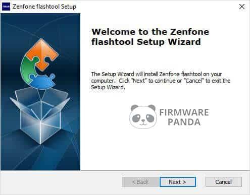 Asus Zenfone Flash Tool Setup Wizard - How to Flash Stock ROM Using Asus Zenfone Flash Tool