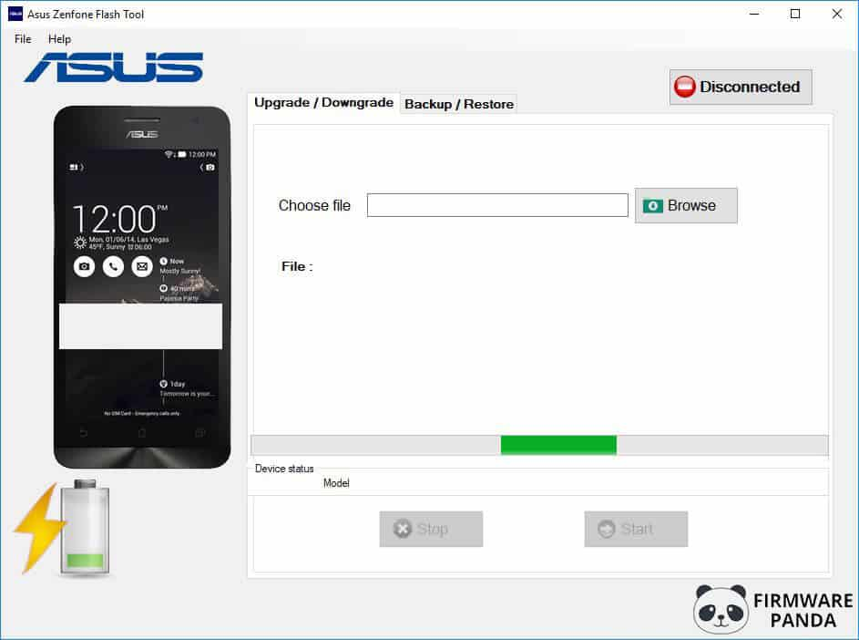 Asus Zenfone Flash Tool - How to Flash Stock ROM Using Asus Zenfone Flash Tool