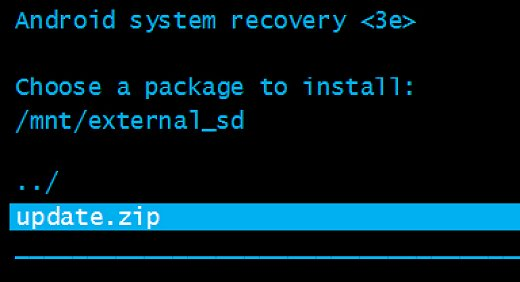 Firmware Flashing via Recovery - How to Flash Stock ROM using Recovery