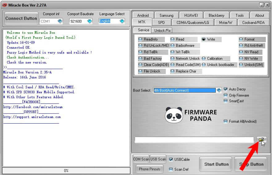 Miracle Box Browse Firmware - How to Flash Firmware using Miracle Box Tool