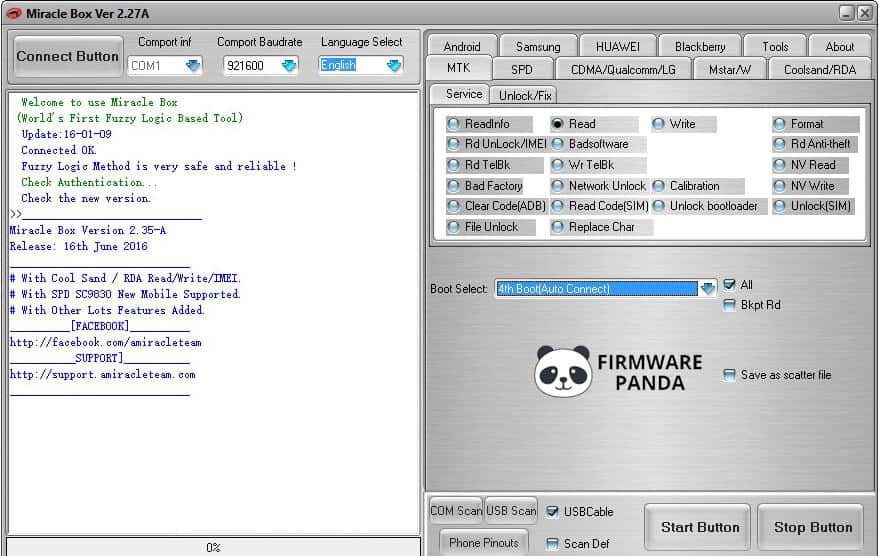 Miracle Box - How to Flash Firmware using Miracle Box Tool
