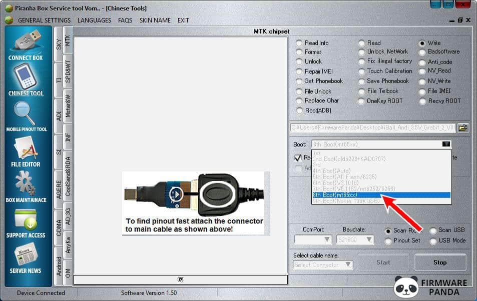 PiranhaBox Select Boot - How to Flash .bin Firmware using Piranha Box Tool
