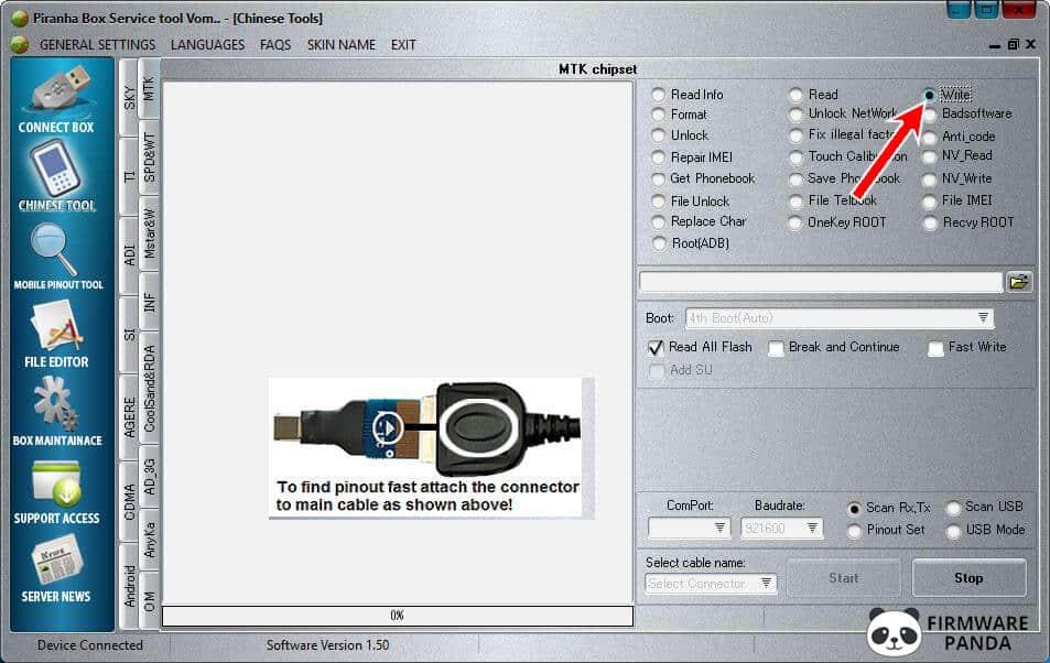PiranhaBox Tool Write - How to Flash .bin Firmware using Piranha Box Tool