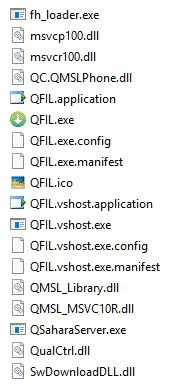 QFIL Tool Files - How to Flash Stock ROM Using Qualcomm Flash Image Loader (QFIL)