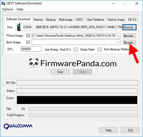 QPST Software Download Load Boot Image - How to Flash Stock ROM Using QPST Tool (Qualcomm Product Support Tool)