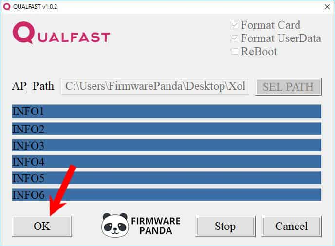 Qualfast Start Firmware Flashing - How to Flash Stock ROM using Qualfast Tool