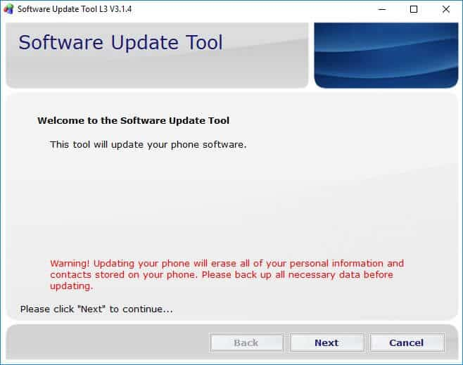 Software Update Tool - How to Flash Stock ROM using SUT L3 Tool